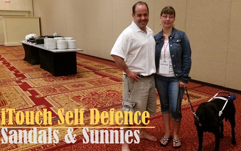 Journey to NOAH CON 2016 : Taking a self defense class with albinism.