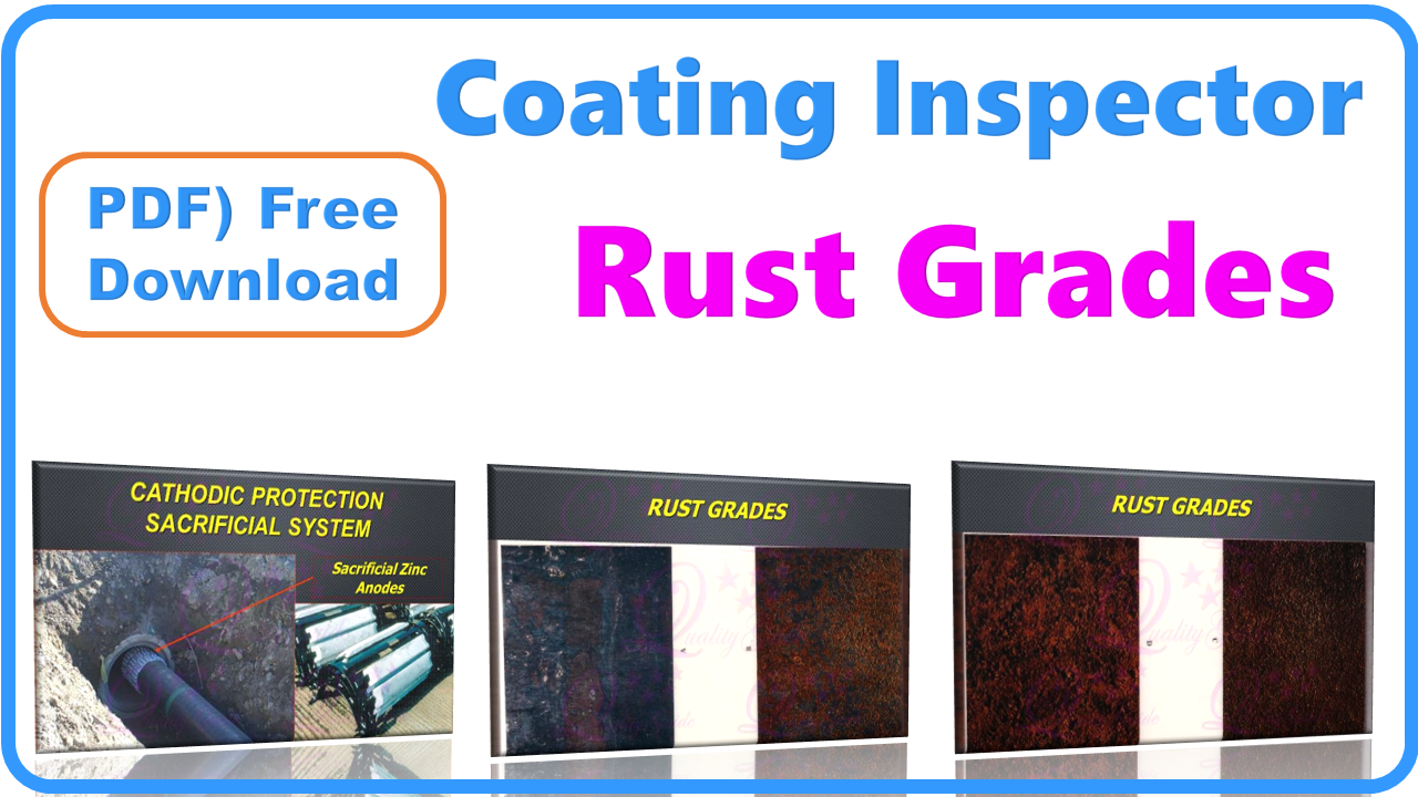 Rust Grades, steel substrate before application of paints