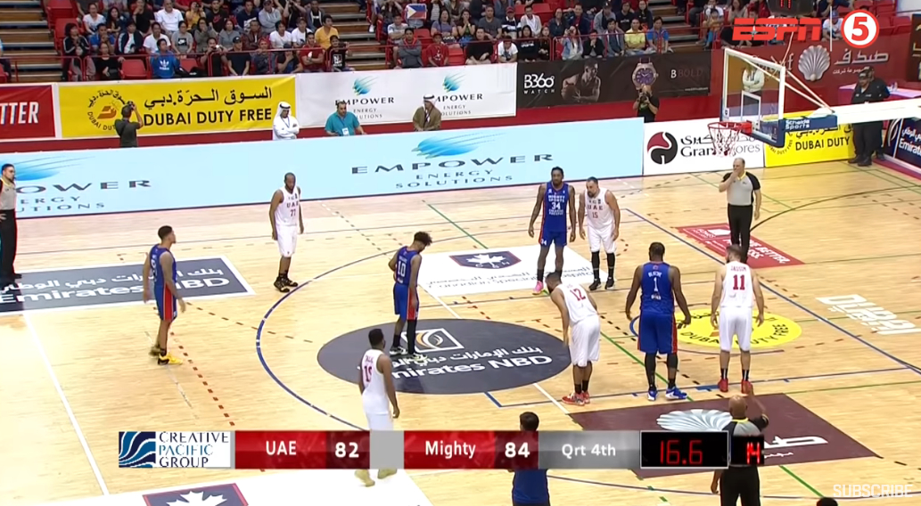 Mighty Sports vs. UAE (Full Game Highlights) 2020 Dubai International Basketball Championship