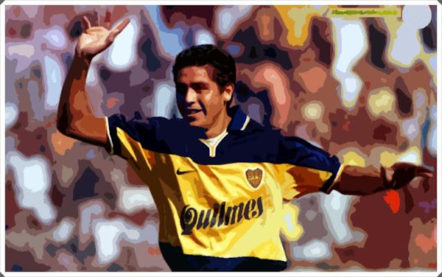 Riquelme Boca Juniors Barcelona 1999