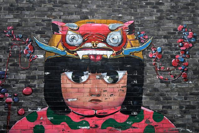 contoh gambar mural
