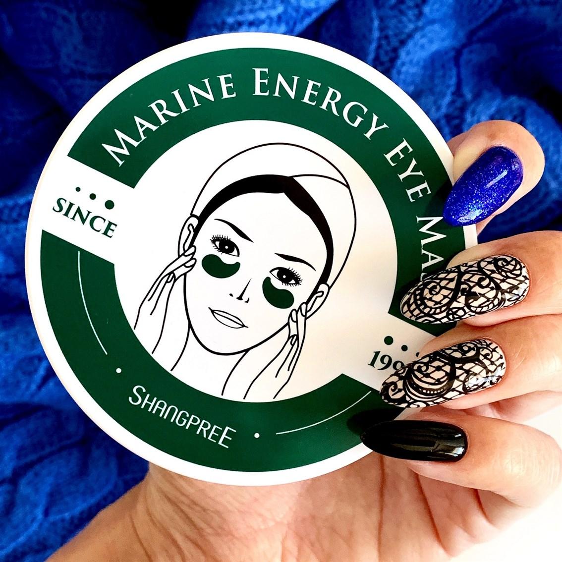 Shangpree Marine Energy Eye Mask  blog