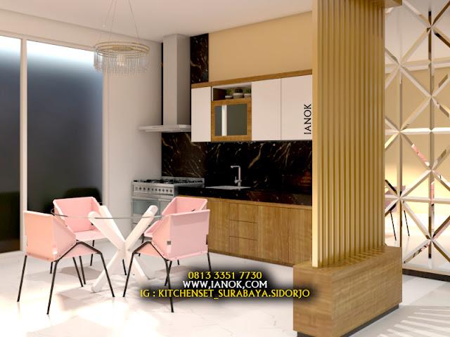 Jual kitchen set Minimalis dengan harga murah