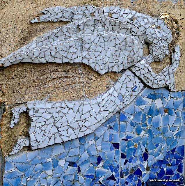 Warszawa Warsaw cmentarz Bródnowski mozaika mosaic mosaics warszawskie mozaiki cmentarze