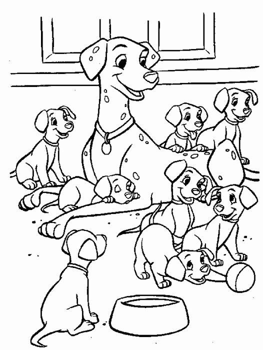Dogs coloring pages 51