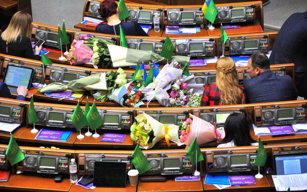 Парламент замовив сотні троянд і ТВ-ремонт за 1 млн