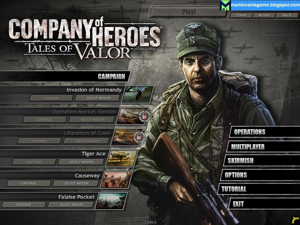 Company Of Heroes Tales Of Valor Patch 2 602 To 2 700 25 Hd