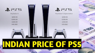 PS5 price for India in Hindi news of Sony PlayStation 5