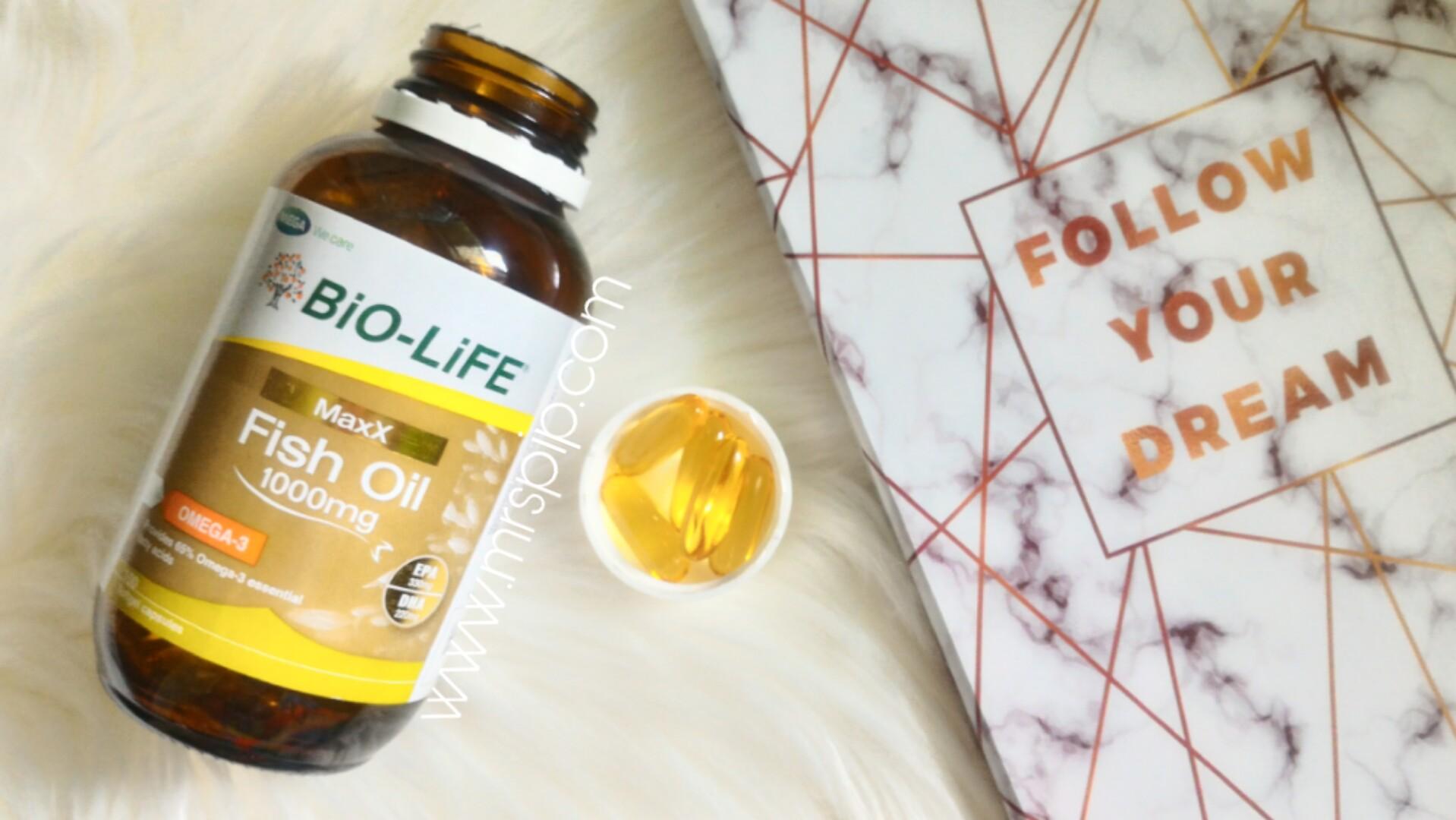 kelebihan minyak ikan (fish oil) omega-3 untuk wanita