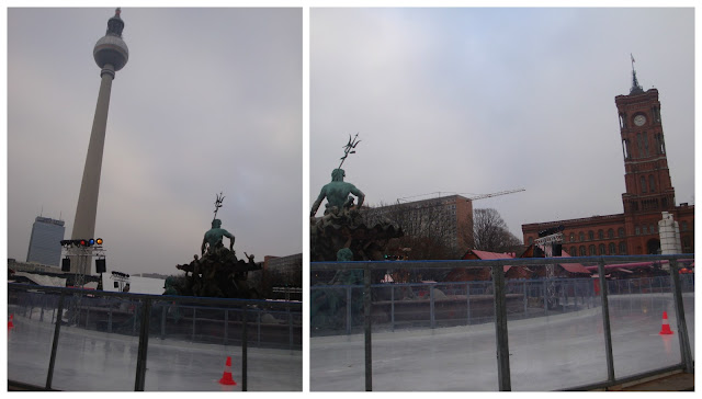 Berliner Weihnachtszeit - Rotes Rathaus, Berlim