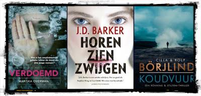 Mariska Overman, JD Barker, Börjlind, Crime Compagnie, De Boekerij, AW Bruna