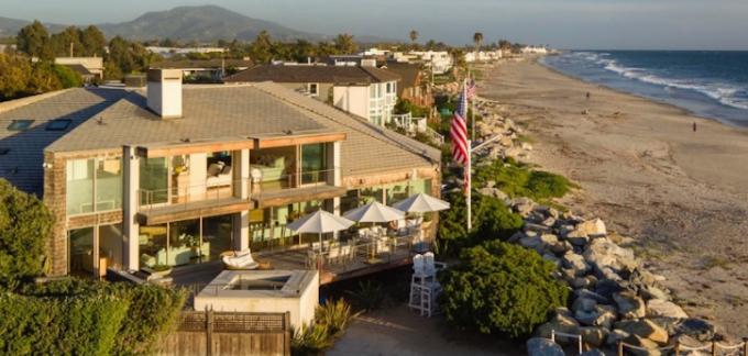 See photos of TV Host Ellen Degeneres' new $18.6m beach house in Carpinteria, California