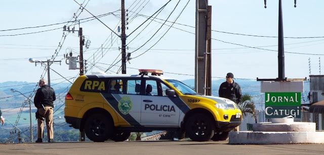Broncas policias registradas em Borrazópolis