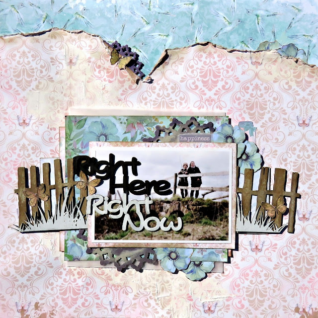 Right here right now scrapbook page tracee provis 2crafty chipboard bo bunny butterfly kisses 01