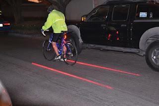 лазерный велофонарь