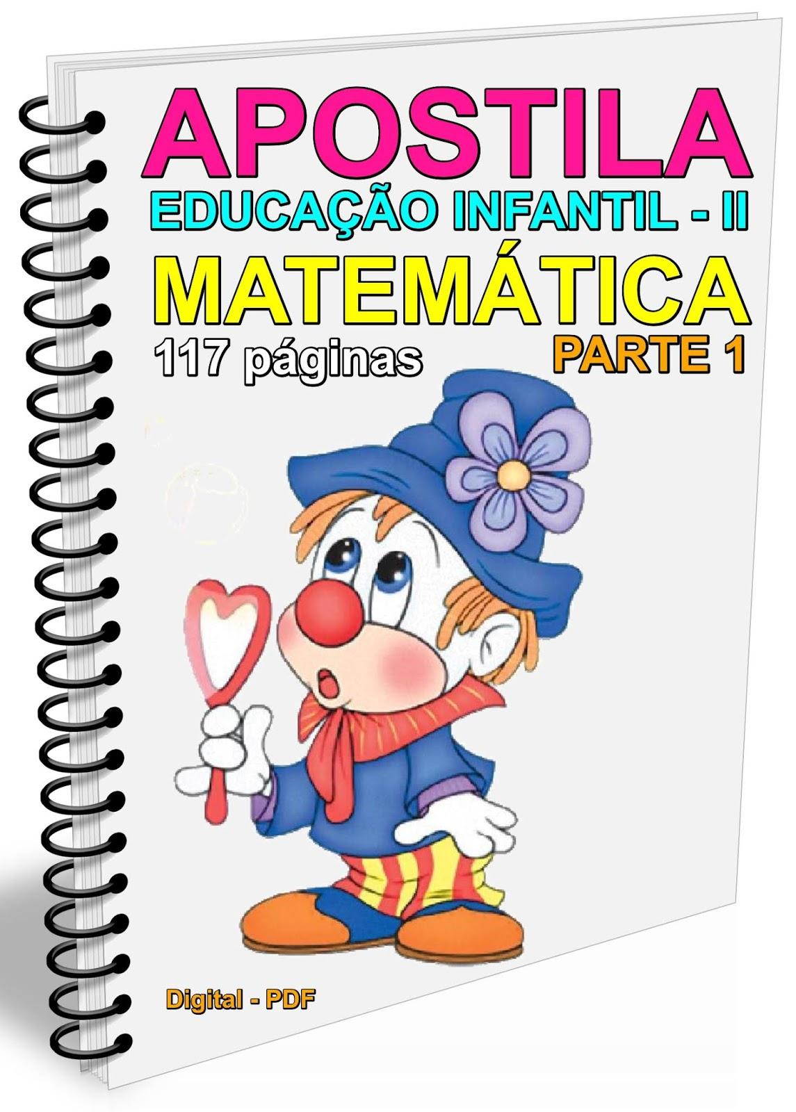 Apostila Educação Infantil Ii Matemática Parte 1 117 Páginas