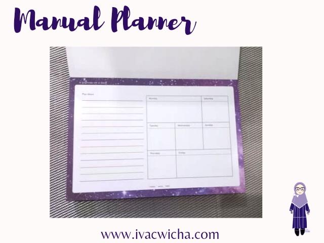 planner manual