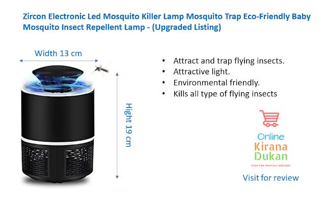 best mosquito killer indoor amazon, Zircon Electronic Led Mosquito Killer Lamp