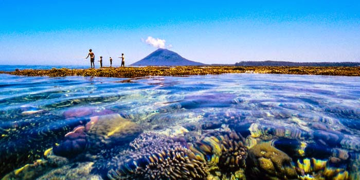 Wisata Taman Laut Nasional Bunaken Manado