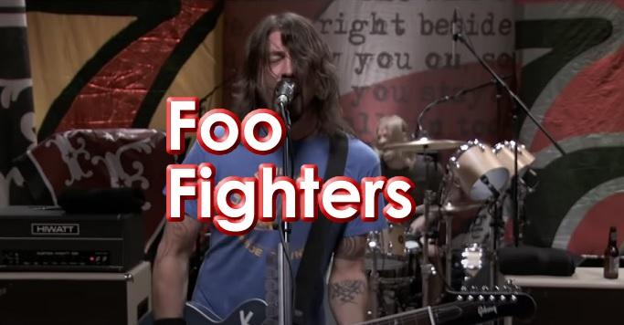 Banda de Rock Foo Fighters en Mexico