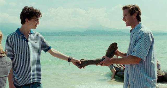 Elio y Oliver en 'Call me by your name'