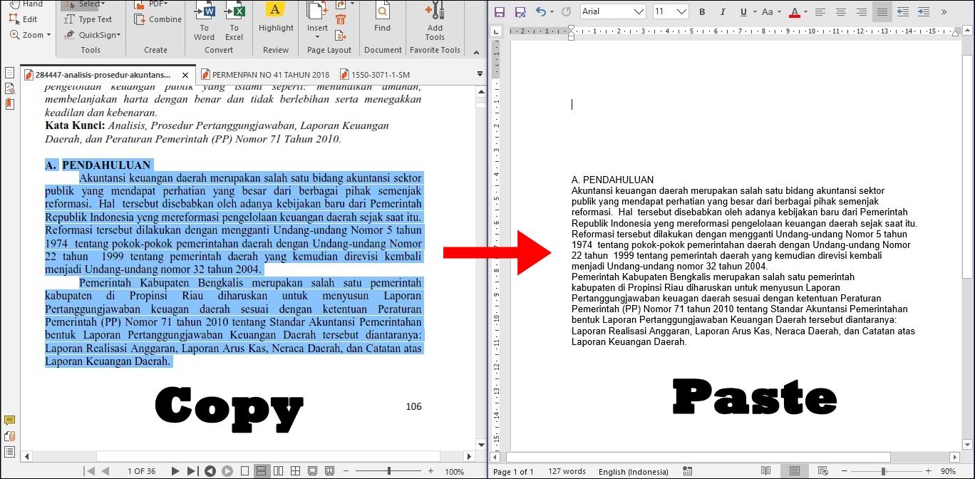Cara Cepat Merapihkan Tulisan Hasil Copy Paste Dari PDF ...