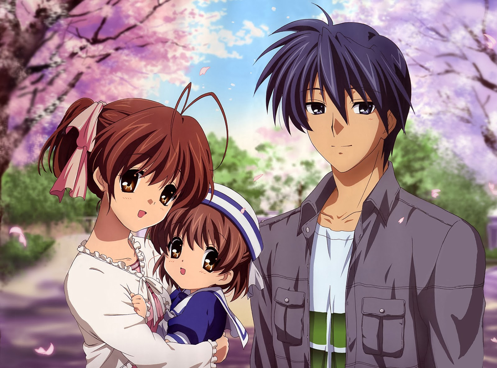 Huda Sugar Subarashi Moments Clannad Shed Tears