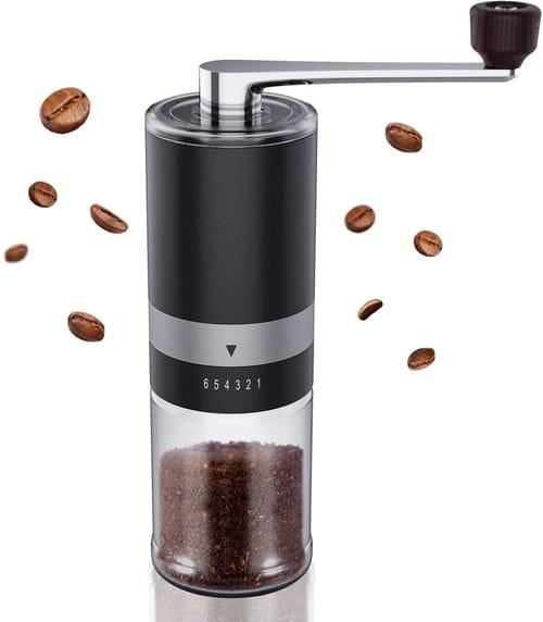 Ingeware Portable Stainless Steel Manual Coffee Grinder