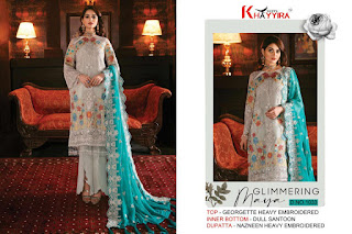 Khayyira Freesia Vol 2 Georgette Wedding Pakistani Suits
