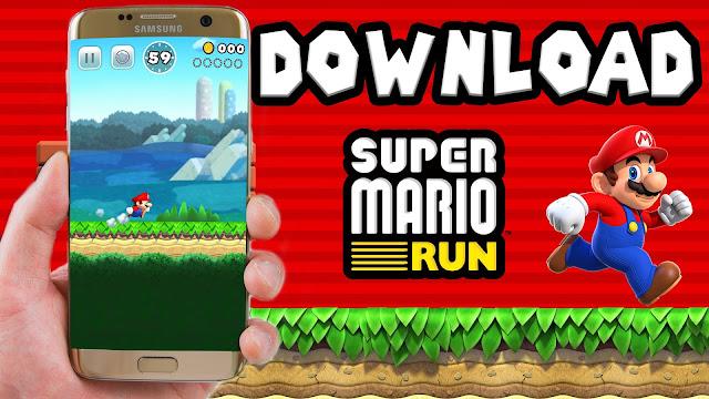 حمّل لعبة Super mario Run التي حصلت على أعلى معدل تحميل في تاريخ متجر أبل | لنظام iOS