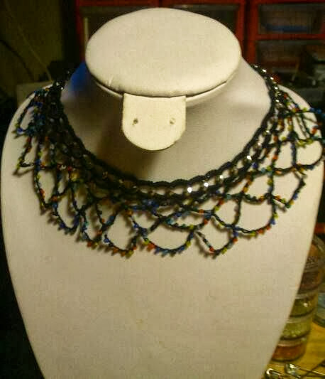 Collar ganchillo (La Mar Mar Labores con Amor)