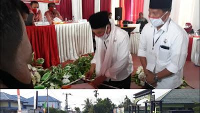 Berkas Mulyani - Amin di Nyatakan Lengkap Oleh KPUD Tanjung Barat
