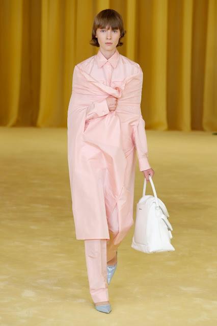 SS21, Fashion Show, Monochrome, trend report, fashion week, nyfw, Nyc, kelly fountain fashion Prada