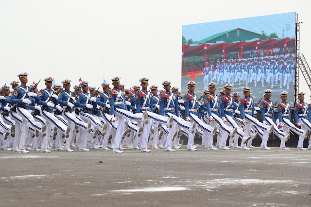 Parade HUT ke-74 TNI Diperkuat 6.806 Personel TNI Di Halim Perdanakusuma