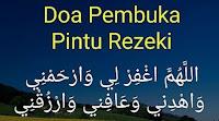 Doa membuka Rezeki Paling Mustajab