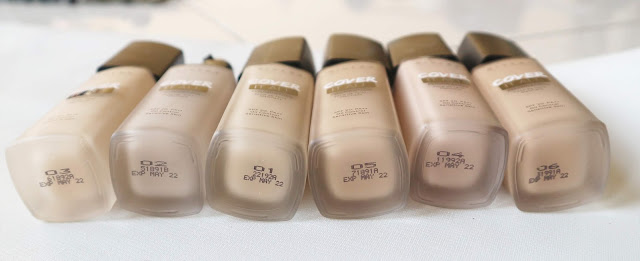 REVIEW & SWATCHES RIVERA COVER IT ALL MATTE FOUNDATION