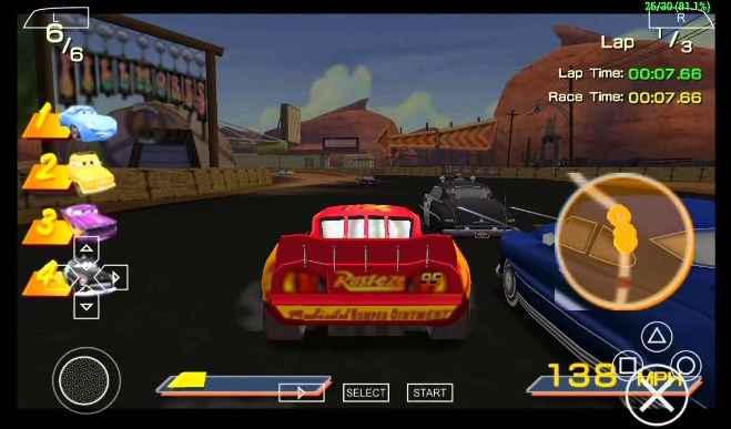 Cars 2 PSP Android