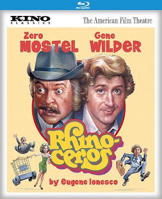Rhinoceros 1974 Blu Ray