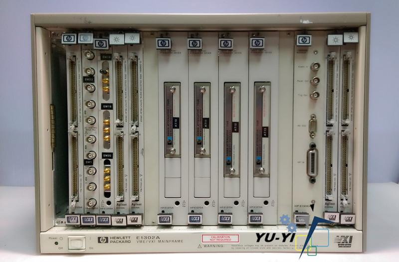 HP PLC Series:E1302A VME VXI Mainframe/E1339A/E1366A/E1369A/E1339A/E1370A/E1306A