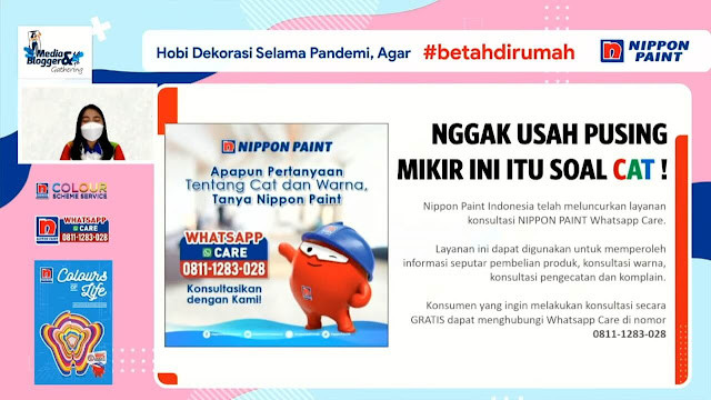 nippon paint whatsapp care