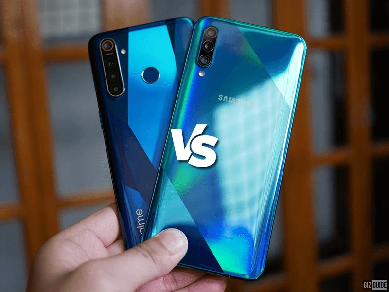 Realme 5 Pro vs Samsung Galaxy A50s Specs Comparison