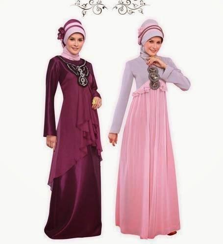 Model Baju Gaun Muslim Untuk Wanita