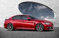 Yeni sedan bir Alfa Romeo