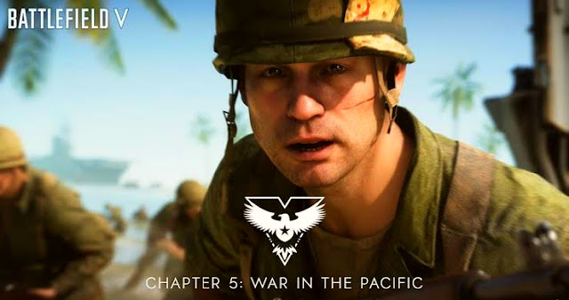 Announcing the addition of War In The Pacific for Battlefield V