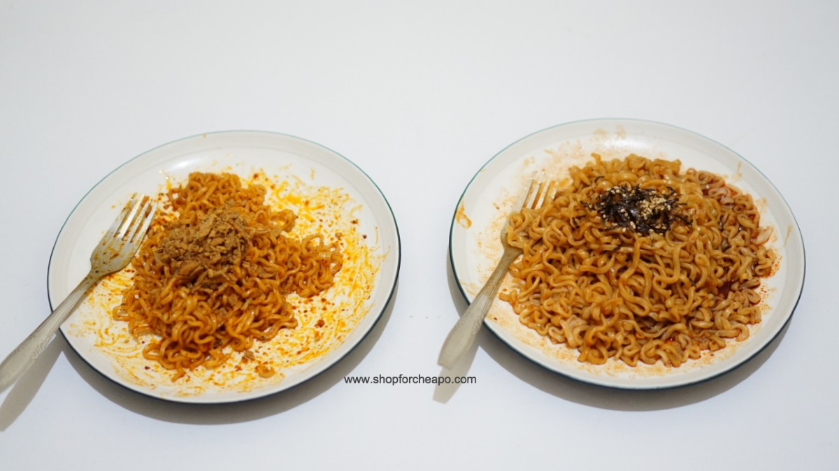 mie sedaap korean spicy chicken vs samyang