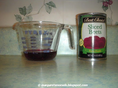 Margaret's Morsels | Pickled Beets