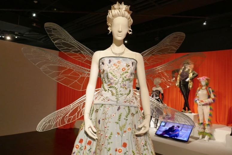 Morena Baccarin Unfortunate Events Beatrice dragonfly opera dress