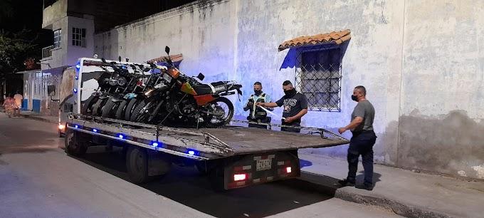 Inmovilizan más de 116 motos en controles al Decreto que  prohíbe el parrillero hombre en Santa Marta