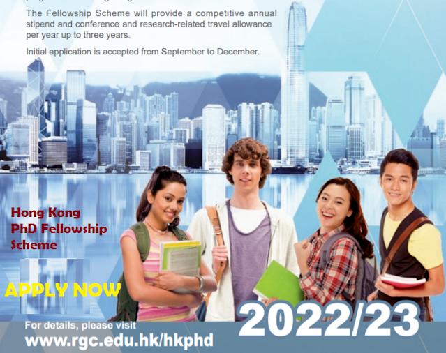 Study in Hong Kong  PhD Fellowship Scheme