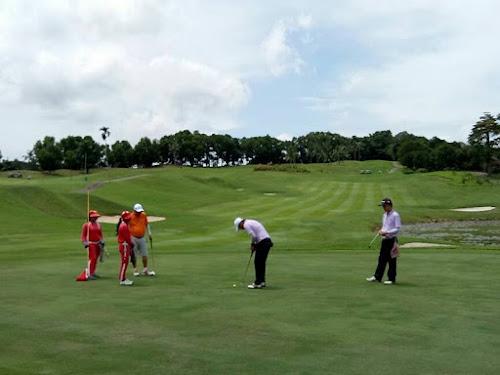 Turnamen Golf President Cup 2017